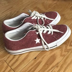NWOT Converse One Star Suede Ox Sneaker